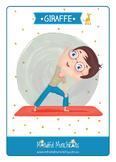 Kids yoga cards
