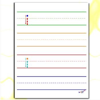Alphabet Letters - Letter I Worksheets