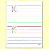 Alphabet Printables - Letter K Worksheets