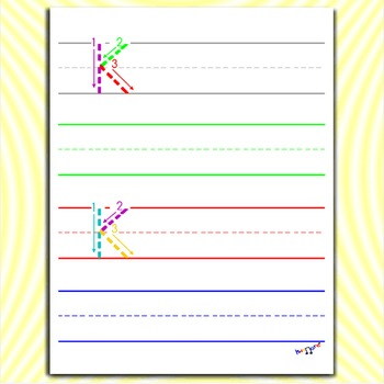 image relating to Letter K Printable named Alphabet Printables - Letter K Worksheets