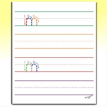 Handwriting For Kids - Letter M Worksheets
