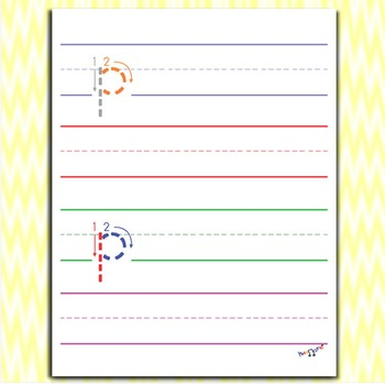 Handwriting Practice - Letter P Worksheets