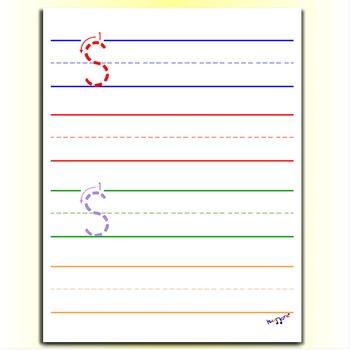 Handwriting Worksheets - Letter S Worksheets -