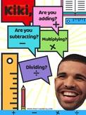 Kiki Adding, Subtracting, Multiplying, & Dividing (Hip Hop