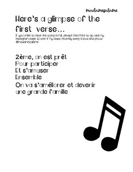 Kiki Do You Love Me? French Classroom Song