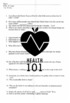 Killer At Large: DVD/MOVIE Guide- Nutrition/Fast Food- Worksheet and Answer Key
