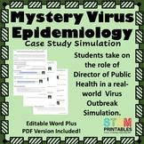 Mystery Virus: Epidemic Epidemiology Case Study Simulation