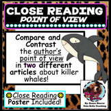 Distance Learning Compare and Contrast the Author's Point of View Google Ready!