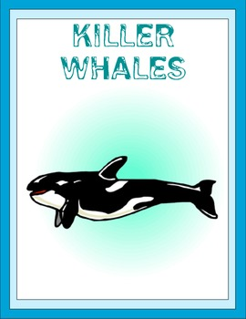 Killer Whales Thematic Unit