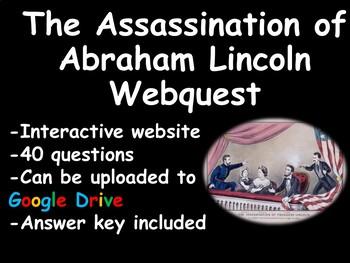 Abraham Lincoln Webquest