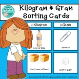 Kilogram and Gram Sorting Cards