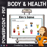 Kim's Game - Body and Health : body parts, emotions and health problems
