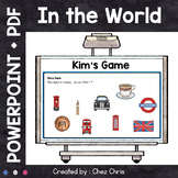 Kim's Game - In the World : nationalities, the USA, the UK