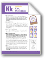 Kim, the Koala