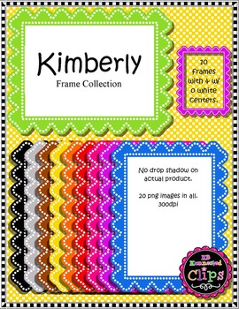 Kimberly Frame Collection - Clip Art