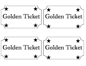 Kimberly's Carnival numbered tickets