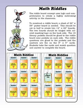 Kim's Math Riddle Boards #2
