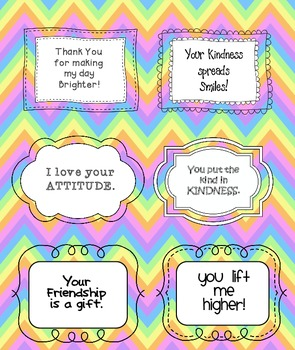 picture relating to Kindness Cards Printable known as Printable Variety Playing cards 1