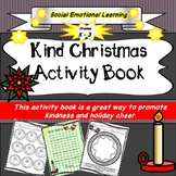 Kind Christmas Activity Book, Social Emotional, Christmas Craft, Counselling