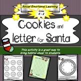 Kind Cookies and Letter for Santa- Craft, Holiday, Social Emotional, Christmas