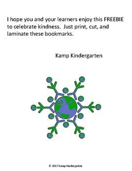 Kind Kids Bookmark FREEBIE