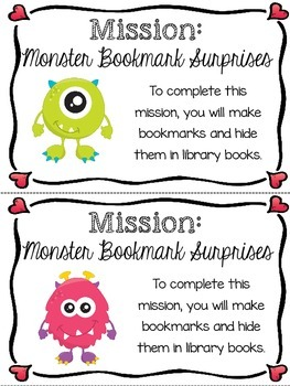 Kind Kids Club - Mission Monster Bookmark Surprises