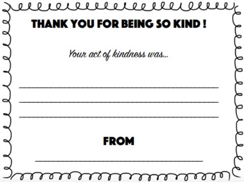 Kind Notes & Kind Jar Entries FREEBIE