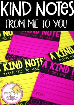 Kind Notes | Random Acts of Kindness