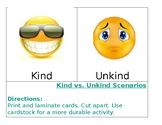 Kind VS Unkind Scenarios **EDITABLE**