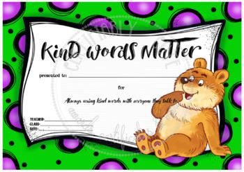 Kind Words Matter