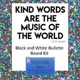 Kind Words Music Bulletin Board