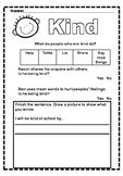 Kind Worksheet