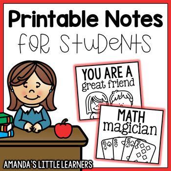 Notes for Students - Kind and Motivating
