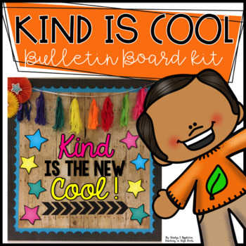 Kind is the New Cool Bulletin Board Kit