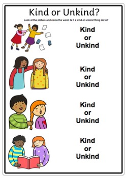 Kind or Unkind?