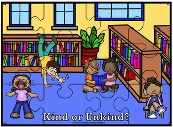 Social Skills: Kind or Unkind? Puzzles