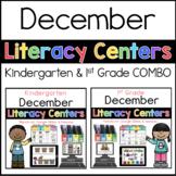 K-1 COMBO Grade December Literacy Centers