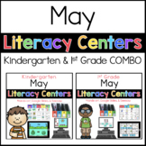 Kinder 1st Grade MAY Literacy Centers