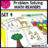Kinder - 1st Grade Problem Solving Math Readers   Set 4: Join All Unknown Types