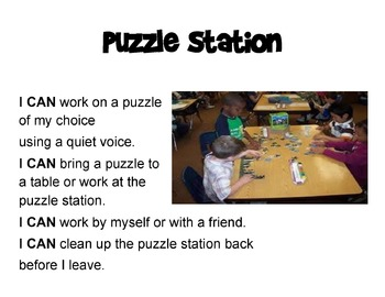 Kinder-2nd Grade Library Stations