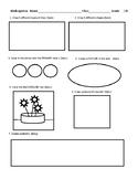 Kinder-5th Art Pre/Post Art Test