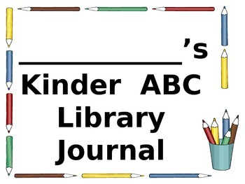 Kinder ABC Library Journal