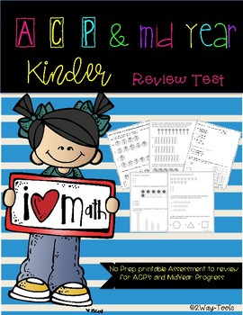 Kinder ACP&Mid Year review Test