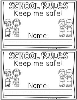 Kinder Back to School Radical Rules: Supplemental Activities {TEKS Aligned}