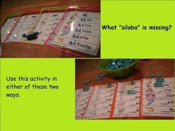 Letra Ss Kinder Bilingual SLA Tesoros' Literacy Centers (3 sets)