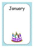 Kinder Birthday Charts