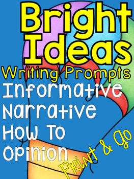 Bright Ideas Writing Prompts