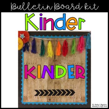Kinder Bulletin Board Kit