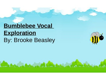 Kinder- Bumblebee Vocal Exploration