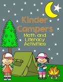 Kinder Campers: Math and Literacy Activities